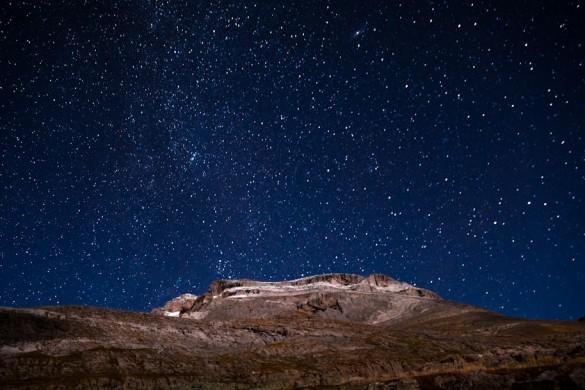 noche estrellada valle