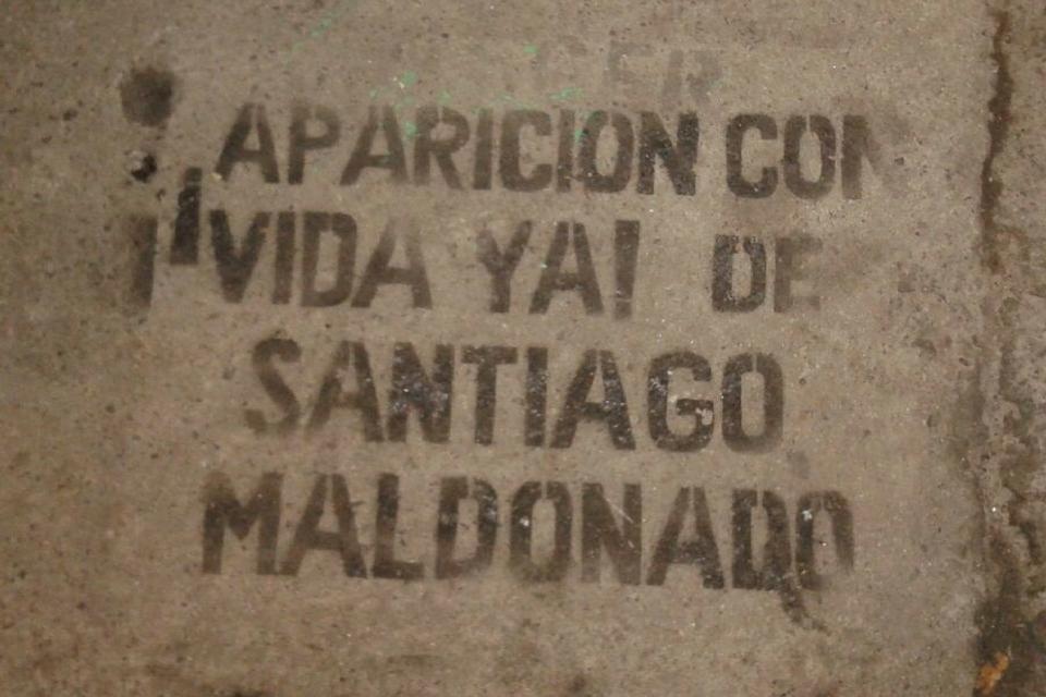 santiago maldonado
