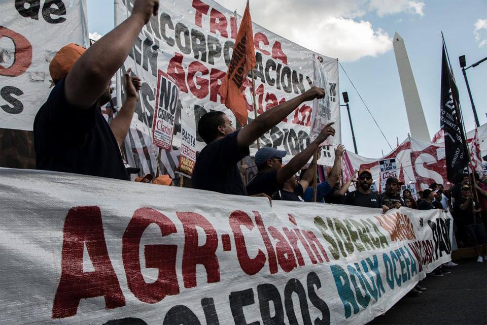 trabajadores AGR clarin