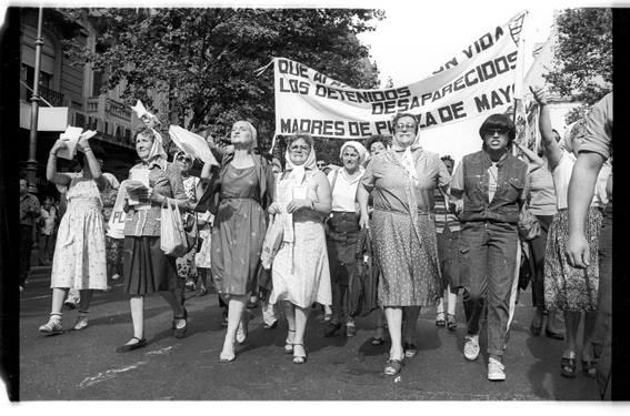16 de Diciembre de 1982 - Marcha del Pueblo por la Democracia y la Reconstrucción Nacional.