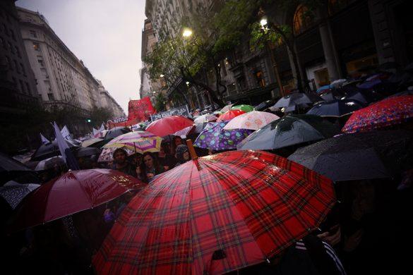 Fotoreportaje – El Miércoles Negro y la lucha por una patria feminista