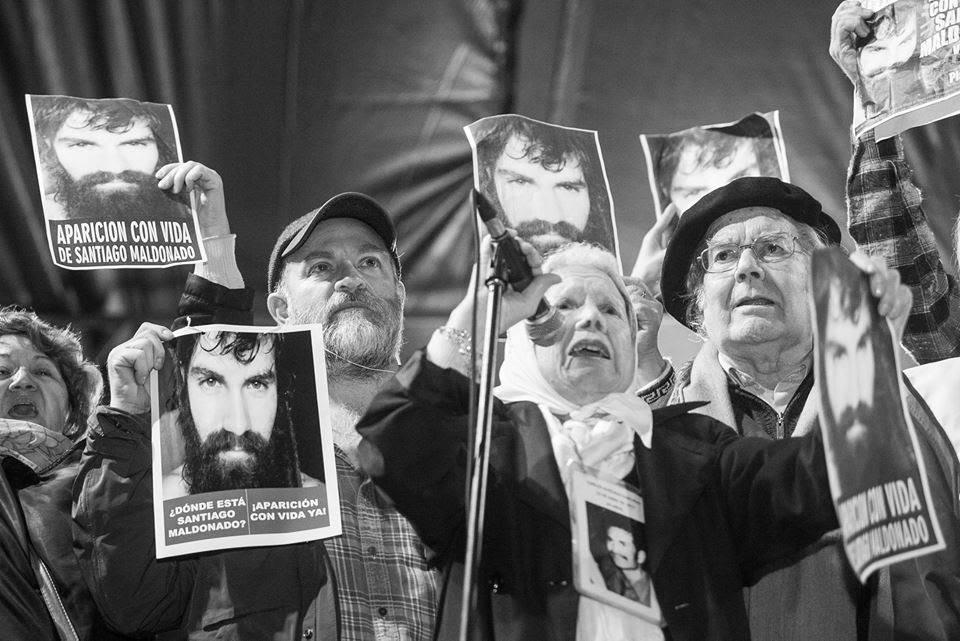 desaparecidos en democracia