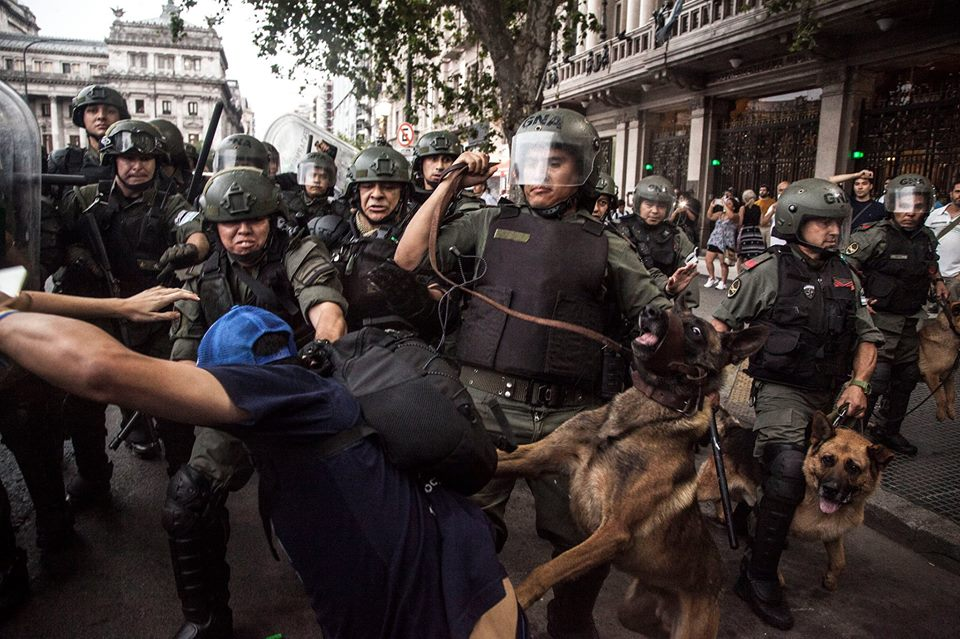 reforma previsional represión
