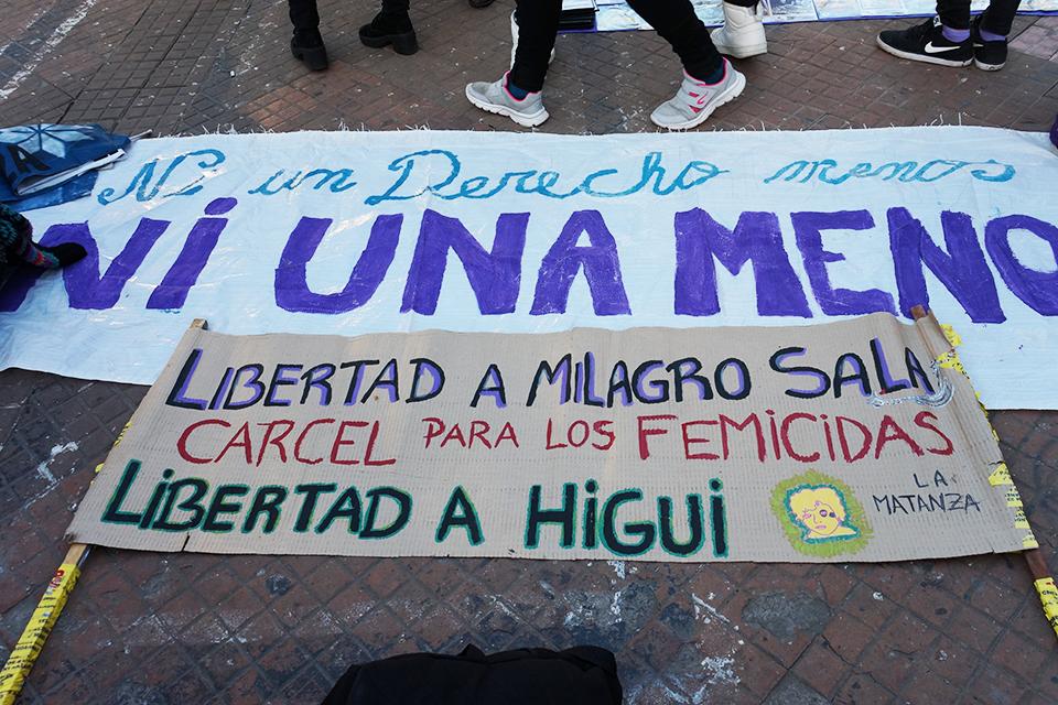 FOTOREPORTAJE: NI UNA MENOS Y UNA NUEVA MARCHA PARA QUE SE CAIGA EL PATRIARCADO