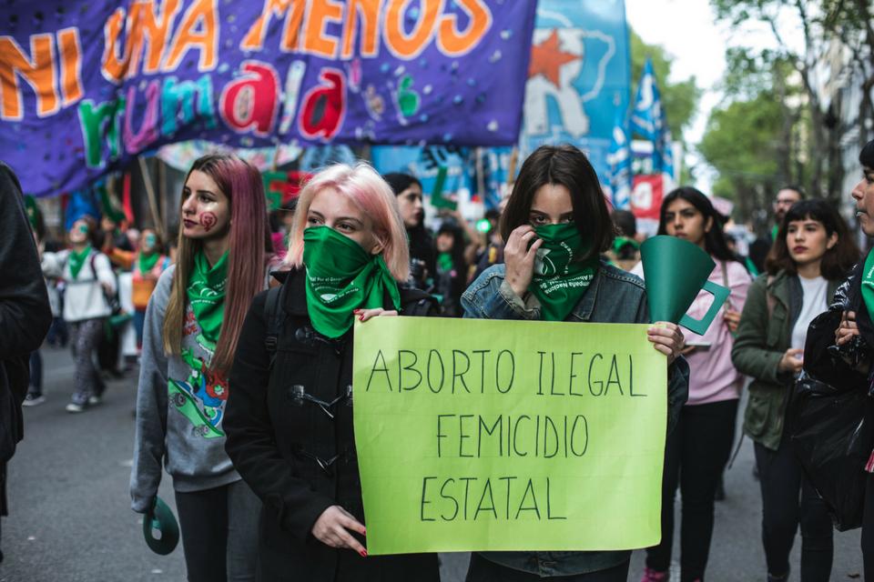 Fotoreportaje: Aborto Seguro, Legal y Gratuito y un nuevo