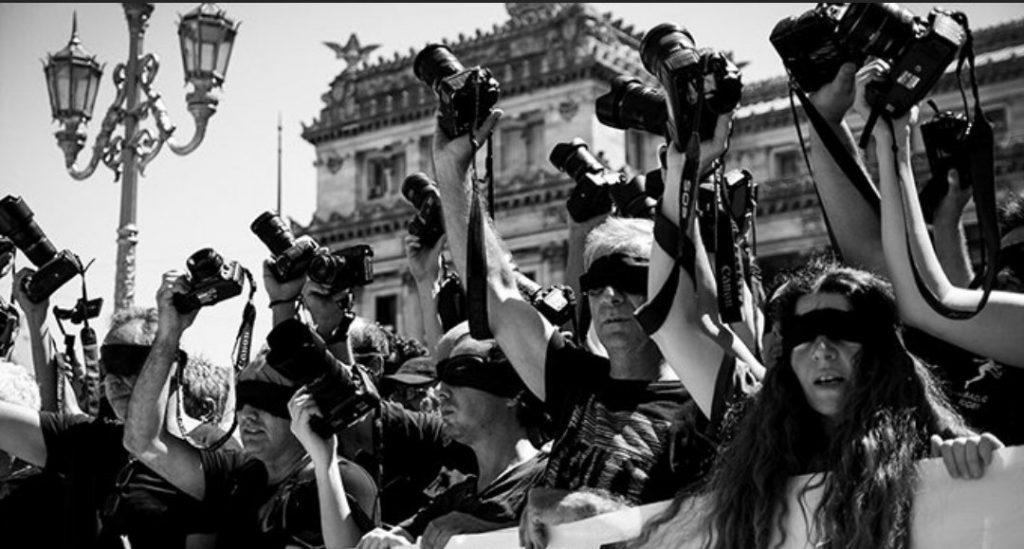 represion a periodistas