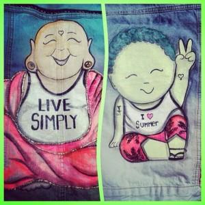Buda. Una imagen frecuente en los diseños