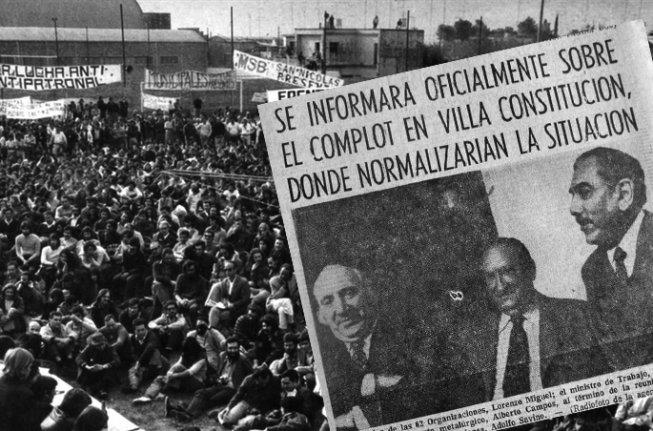 cuando arranco el genocidio argentino