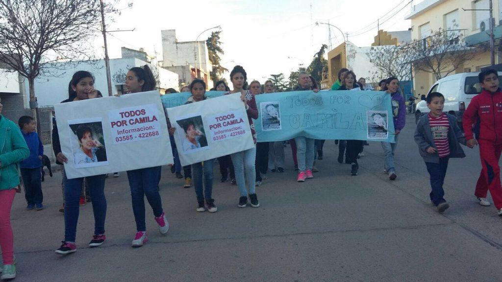 Marcha por Camila Carletti
