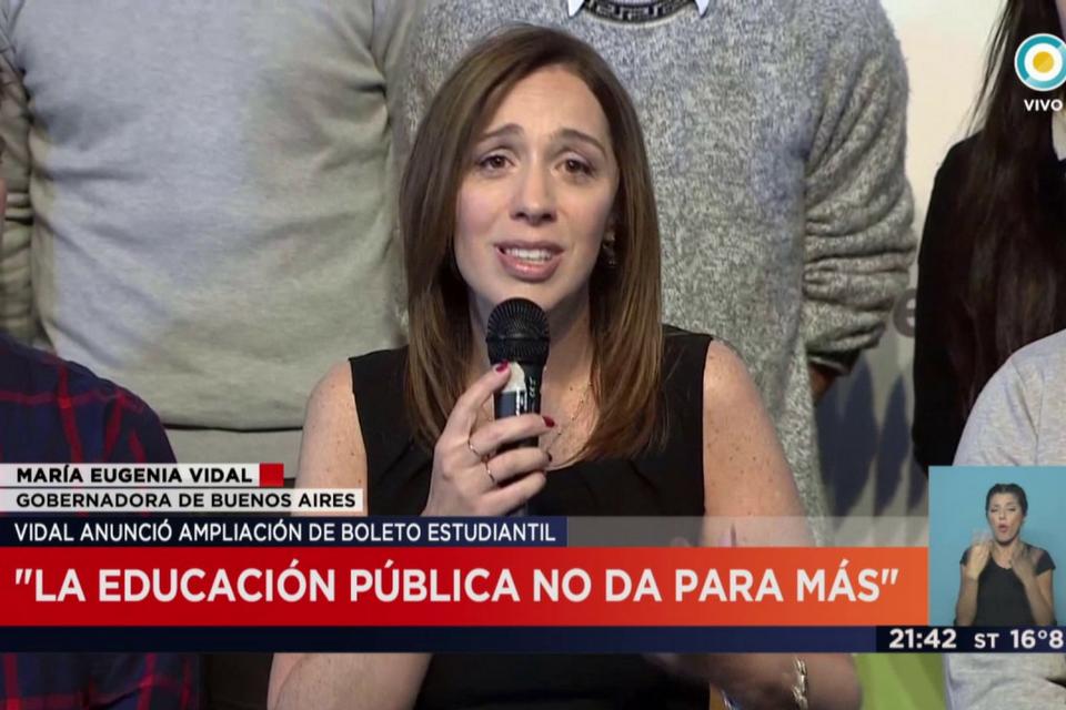 Vidal decidió suspender el cierre de seis escuelas