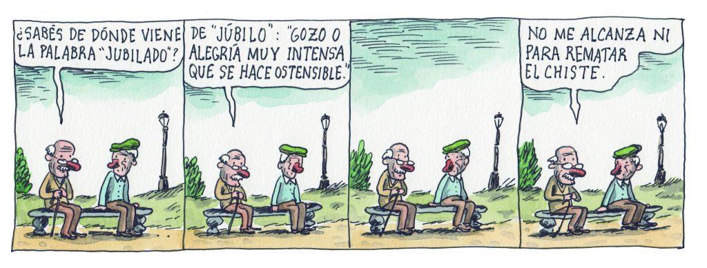 la cultura y la reforma previsional Liniers