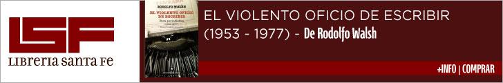 El violento oficio de escribir LSF