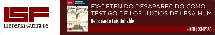 DESAPARECIDO COMO EXTESTIGO DE LOS JUICIOS DE LESA HUMANIDAD LSF