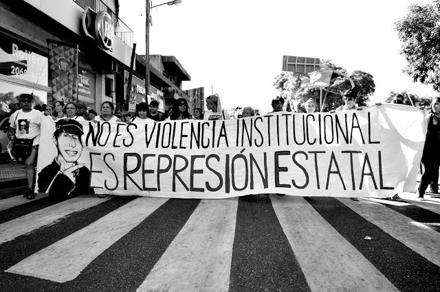 qué es represión estatal