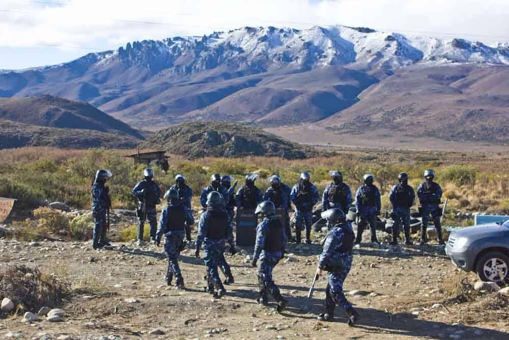 policias mapuche