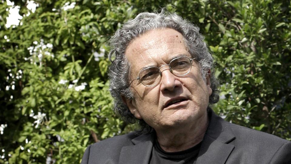 ENTREVISTA A RICARDO PIGLIA Y EDUARDO STUPIA. 14/03/12 Foto Fernando Massobrio