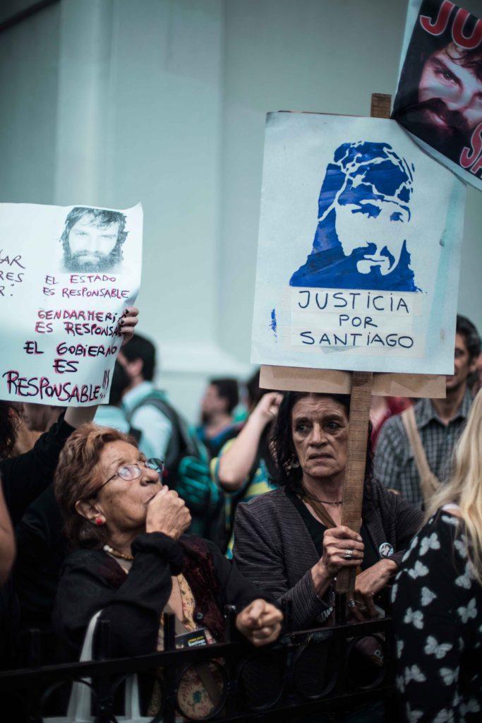 Santiago maldonado afecta a la democracia