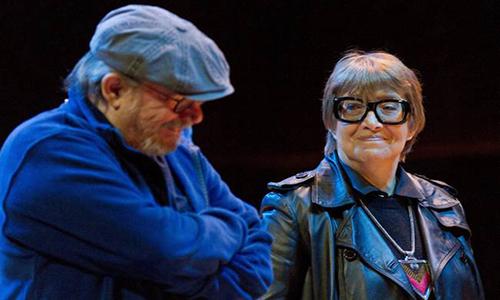 Silvio Rodríguez junto a Teresa Parodi