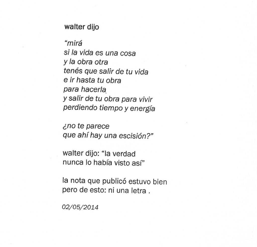 walter dijo